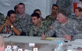 Exercice conjoint Garde nationale états-unienne et armée égyptienne... en 2007