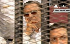 Capture d'écran de Moubarak, lors de l'audience du 6 juillet 2013 au Caire