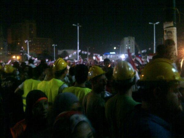 es Tahrir Bodyguard contre le harcèlement sexuel