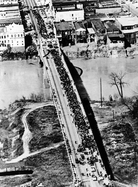 Pont Pettus. La marche sur Montgomery