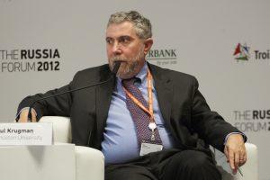 Paul Krugman, Princeton University, au Russia Forum au début 2012