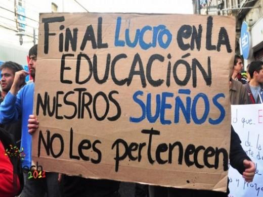 Chili: mobilisation étudiante pour une éducation gratuite et de qualité