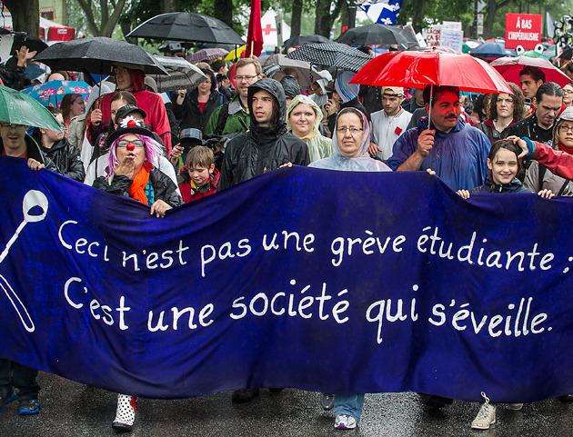 Québec: juin 2012
