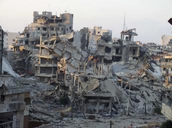 Homs, le 16 juillet 2013