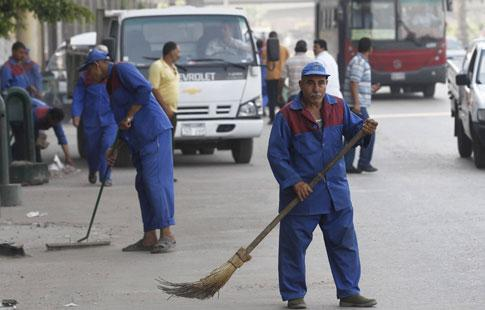 Y compris des travailleurs du secteur public n'auront pas le salaire minimum