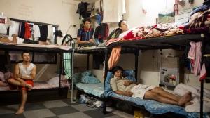 """""""Logements"""" des travailleurs migrans au Qatar"""