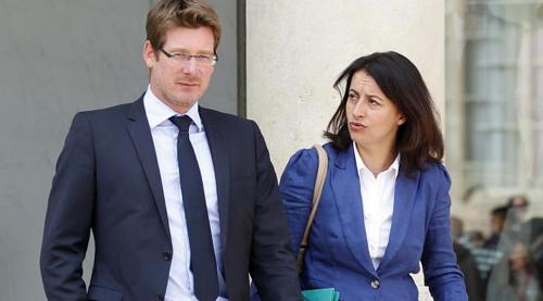 Pascal Canfin et Cécile Duflot, les deux minstres écolos...