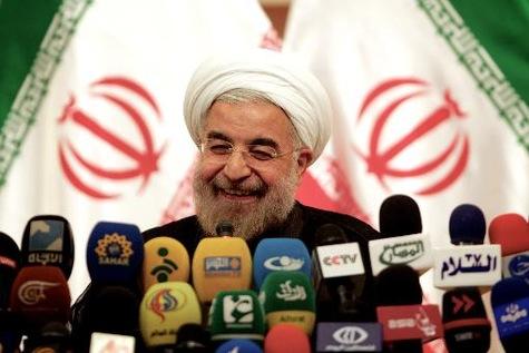 Hassan Rohani, en juin 2013, à Téhéran