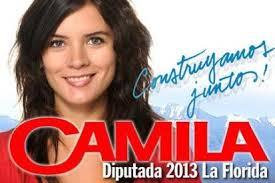Camilla Vallejo, députée du PC
