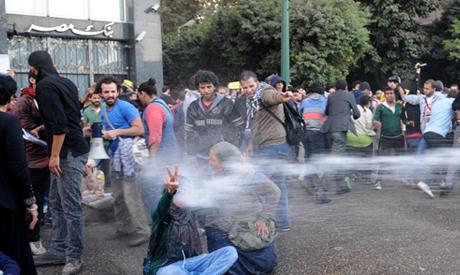 La police disperse des manifestant·e·s au Caire