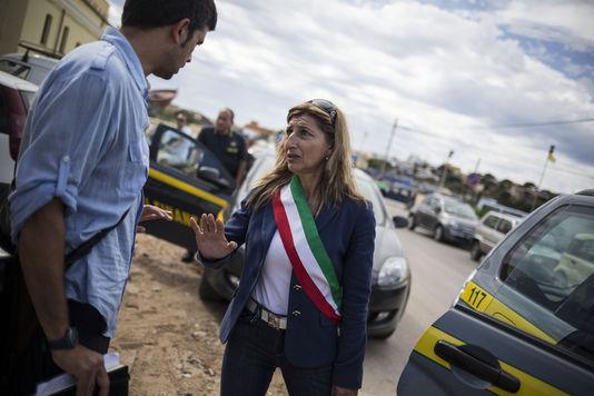 La maire de Lampedusa: Giusi Nicolini