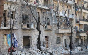 Alep, il y a huit jours