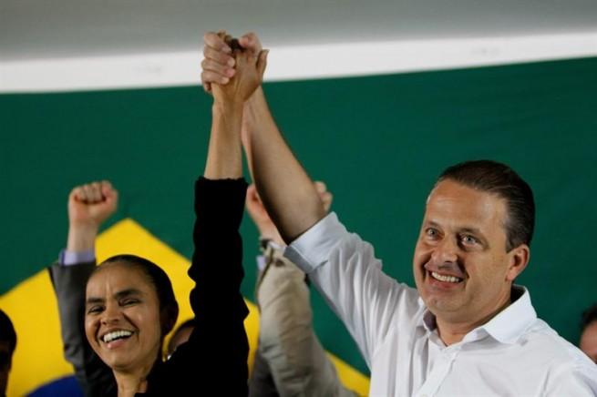 Marina Silva et Eduardo Campos