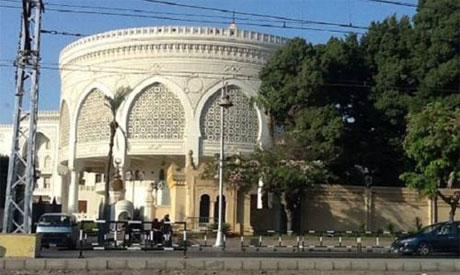 Le palais présidentiel au Caire