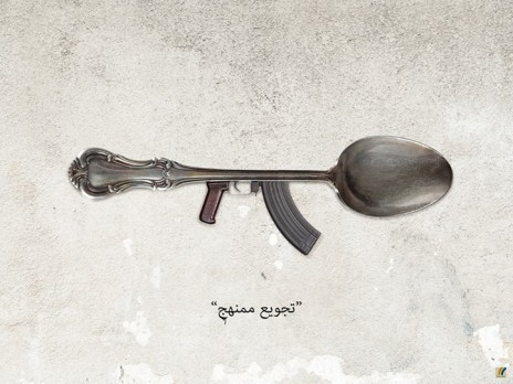«Affamement systématique»