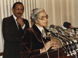 John Conyers et Rosa Parks