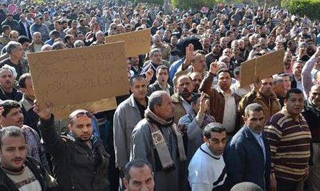 Travailleurs de Mahalla en grève