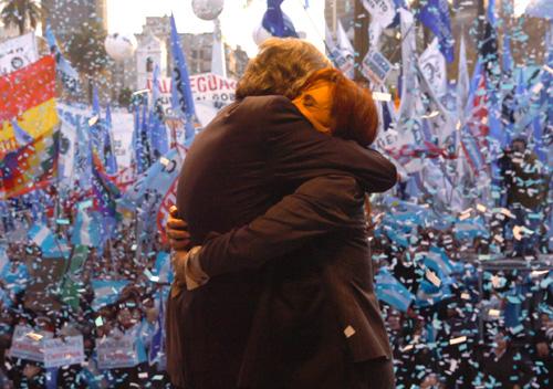 Néstor Kirchner et Cristina Fernandez-Kirchner