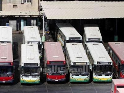 Grève des bus au Caire et à Gyseh, 25 février 2014