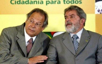 José Dirceu et Lula
