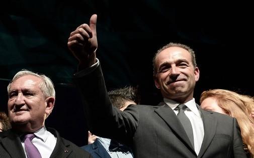 Jean-Pierre Raffarin (gauche) et Jean-François Copé