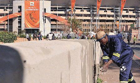 Afrique du Sud, 2010. A la veille de «l'ouverture» de la Coupe....