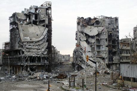 Le régime Assad «libère» Homs