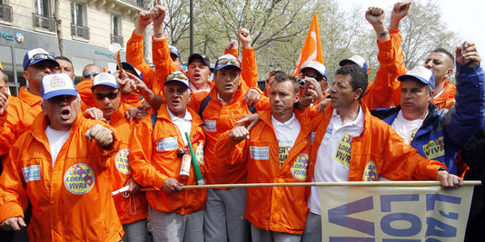 Le 24 avril 2013, fermeture des hauts-fourneaux de Florange après 20 mois de lutte sociale
