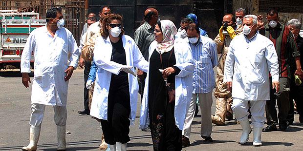 Grève du personnel médical, mars 2014