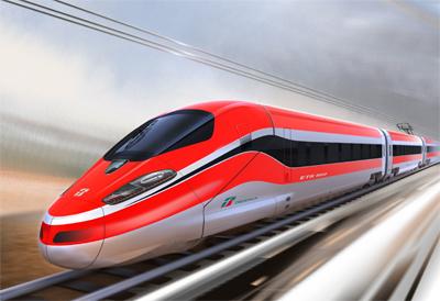 Bombardier canadien présente son train en Italie
