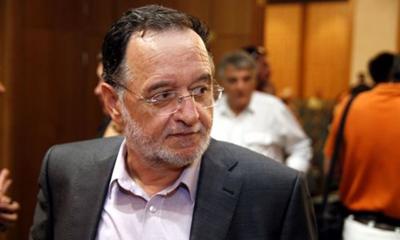 Panagiotis Lafazanis, député de SYRIZA, et porte-parole du Courant de gauche