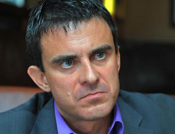 Le premier ministre PS Manuel Valls