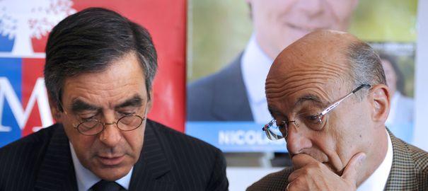 François Fillon et Alain Juppé