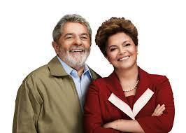 Lula et Dilma Rousseff