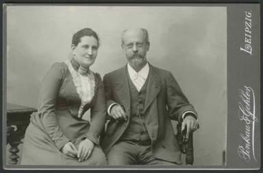 Luise Kautsky et Karl Kautsky