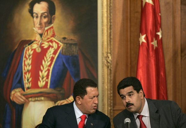Chavez et Maduro