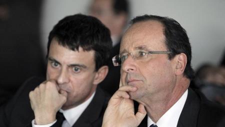 Valls et Hollande....