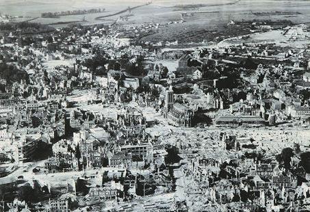 Caen en juillet 1944