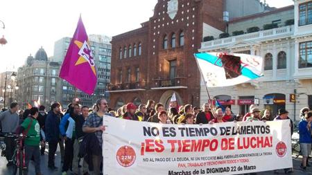 Marche de la Dignité, le 22 mars 2014