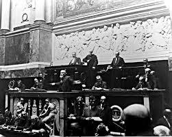 Jean Jaurès à l'Assemblée nationale