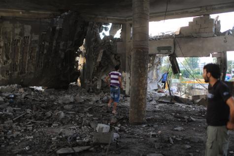 Ecole de l'ONU à Gaza: une cible de l'armée israélienne... dite de «défense»