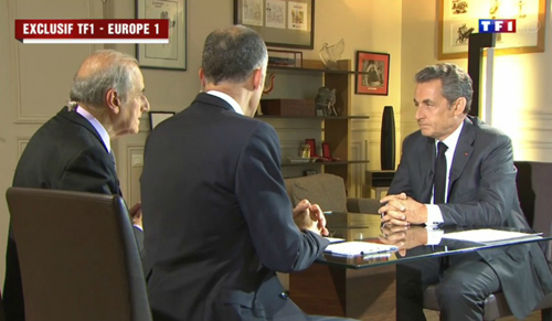 Le «plan com» de Sarkozy le 2 juillet 2014