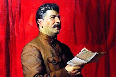 Portrait de Joseph Staline en 1933