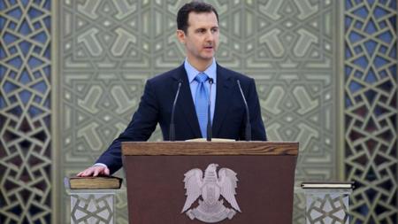 L'autocrate Bachar al-Assad, le 16 juillet 2014