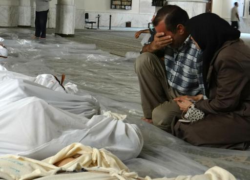 Le 25 août 2013, face à la mort et à leurs morts