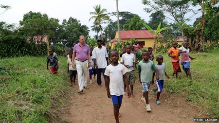 Peter Piot: de retour pour la seconde fois depuis 1976 à Mandzomba, Yambuku