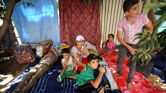 Chrétiens d'Irak aux alentours d'Erbil