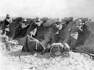 L'armée italienne en Libye en 1911