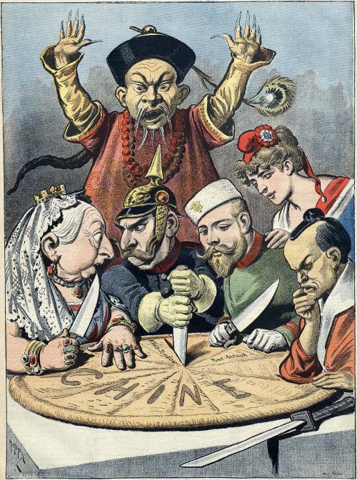 Rosa Luxemburg, dans la «Brochure de Junius» souligne la dynamique du «nouveau partage du monde» entre les impérialismes «nouveau partage du monde» entre les impérialismes
