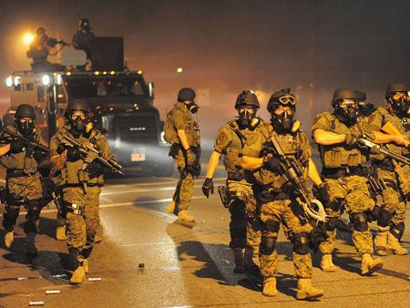 Le 18 août 2014, dans la banlieue de Saint-Louis,  la ségrégation raciale est défendue...